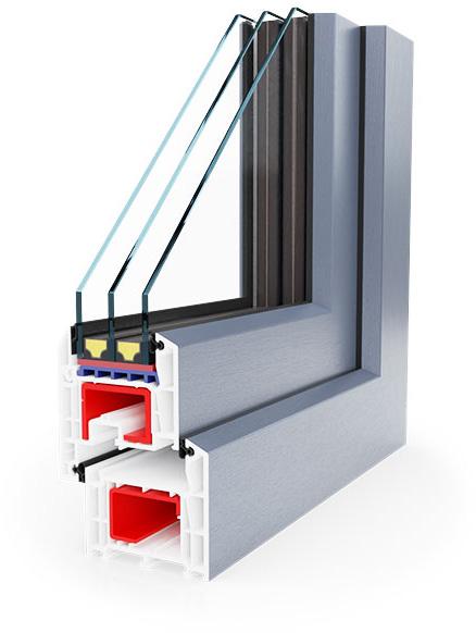 okno energooszczędne Salamander AD