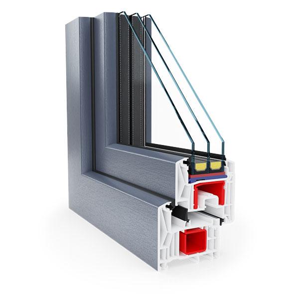 okno Rehau - Synego 80